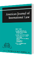A 3D model of an issue of the American Journal of International Law
