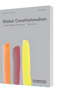 A 3D model of an issue of the Global Constitutionalism