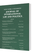A 3D model of an issue of the Journal of International Law and Politics